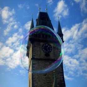 Čas v bublině
