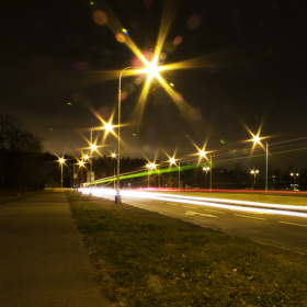 Noční provoz.