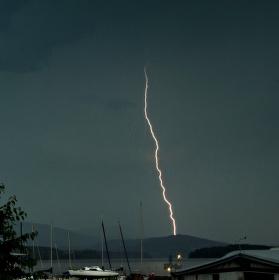 bouřka v Černé v Pošumaví