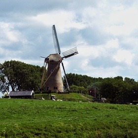 Holandsko, země větrných mlýnů