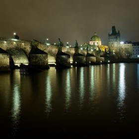 Romantika večerní Prahy