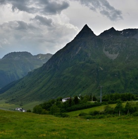 Silvretta ( v údolí obec Galtür )