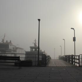 přístav na jezeře Chiemsee