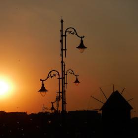 Nesebar - západ slunce