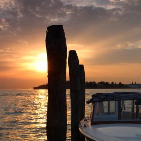 Západ slunce na Lidu