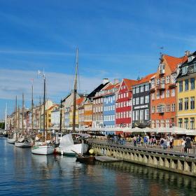Starý přístav Nyhavn v Kodani