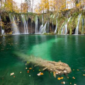 Podzim na Plitvicích