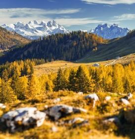 Alpské toulky podzimem