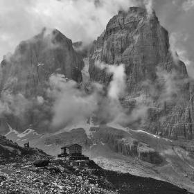 DOLOMITI - pohoří Brenta