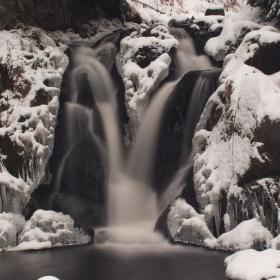 Vodopád Chomutovky