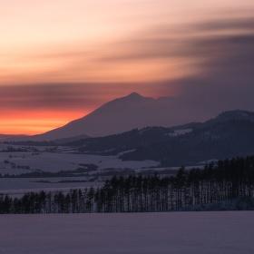 Zimný podvečer