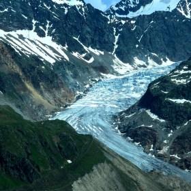 Konec ledovce v Alpách