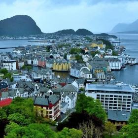 Alesund Norsko