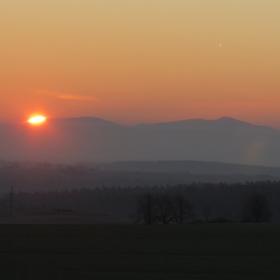 Slunce před slunovratem