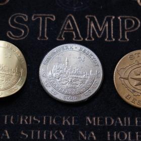 turistické mince