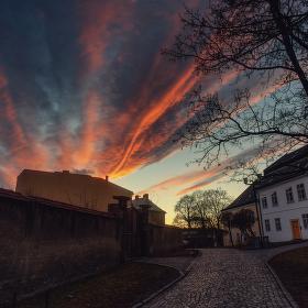 Podvečer na Václaváku