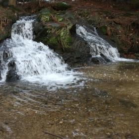 Arnoltický vodopád.