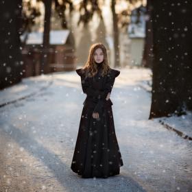 Zimní podvečer