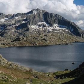 Ledovcové jezero Estany de Monges 2
