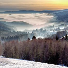Šumava - z Pekelského údolí