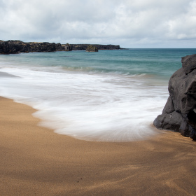Skarðsvík Beach Island