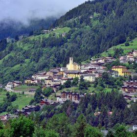 Městečko v Lombardii