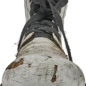 Bílá bota