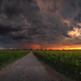 Podvečerná búrka