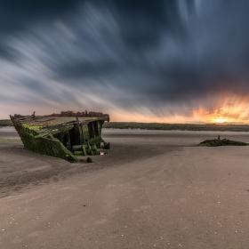 Baltray Shipwreck Sunset