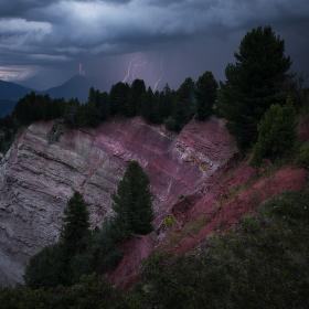 Bouře v Alpách