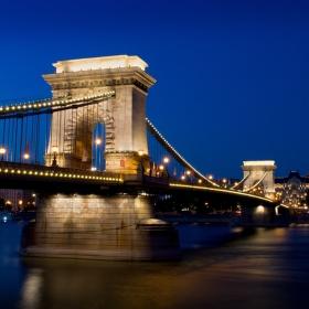Řetězový most - Budapešť