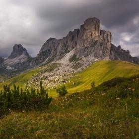 Monte Nuvolau, dolomitské kopečky