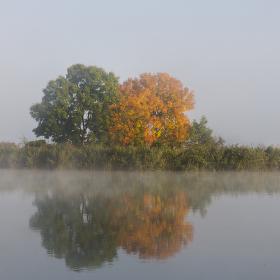 Orámován mlhou