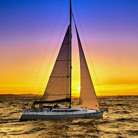 Zadarský západ slunce
