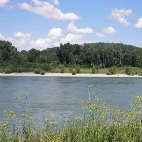 Dunaj, Hainburg an der Donau , Rakousko