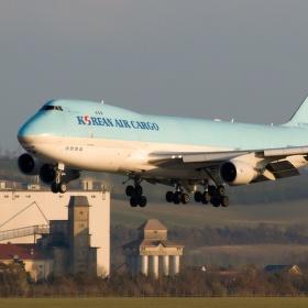 B747 Korean Air Cargo
