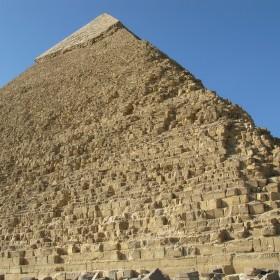 Chefrenova (Rachefova) pyramida (Gíza, Káhira - Egypt)