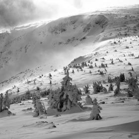 Zima na Studniční