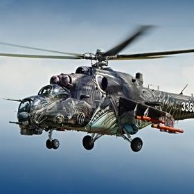 Mi-24 Hind na Aviatické Pouti