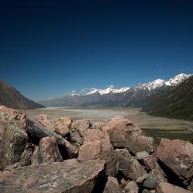 Ledovcové údolí ...