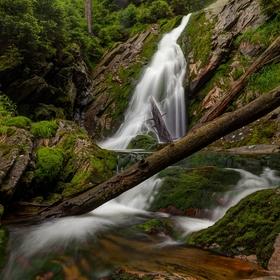 K nejvyššímu vodopádu Šumavy