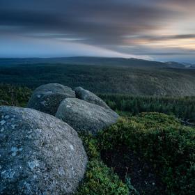 Polední kameny v Jizerských horách