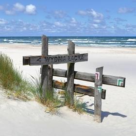Leba - pláž