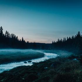 Podvečer u Roklanského potoka