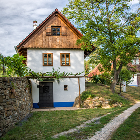 Domek ve vinohradech