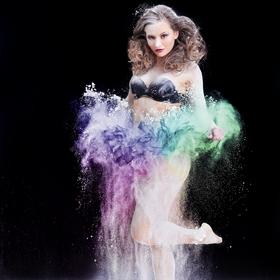 Dance in flour