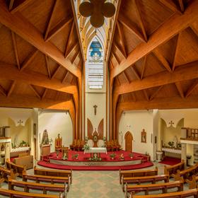 Kostel svatého Ducha - Hévíz (1)