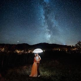 I Mléčná dráha novomanželům zářila