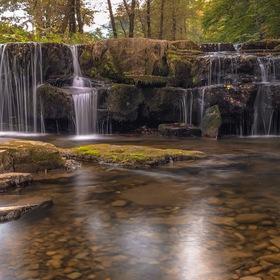 Mohelnický vodopád mobilem