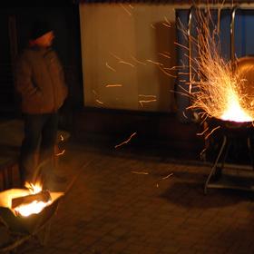 Příprava na mrazivé grilování